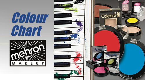 Mehron Color Chart