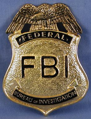 What does a real fbi badge look like